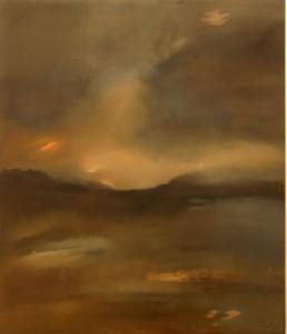 Refúgio do Tempo - 140 x 120cm óleo sb tela 2005